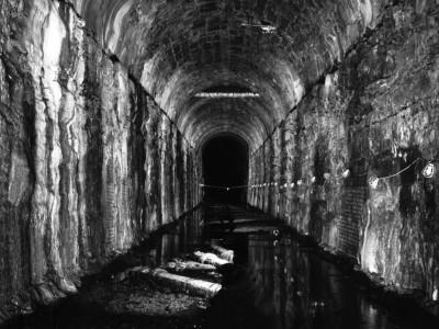 "Pillsbury ""A"" Mill Water Power Tunnel (1882) Minneapolis, Minnesota"
