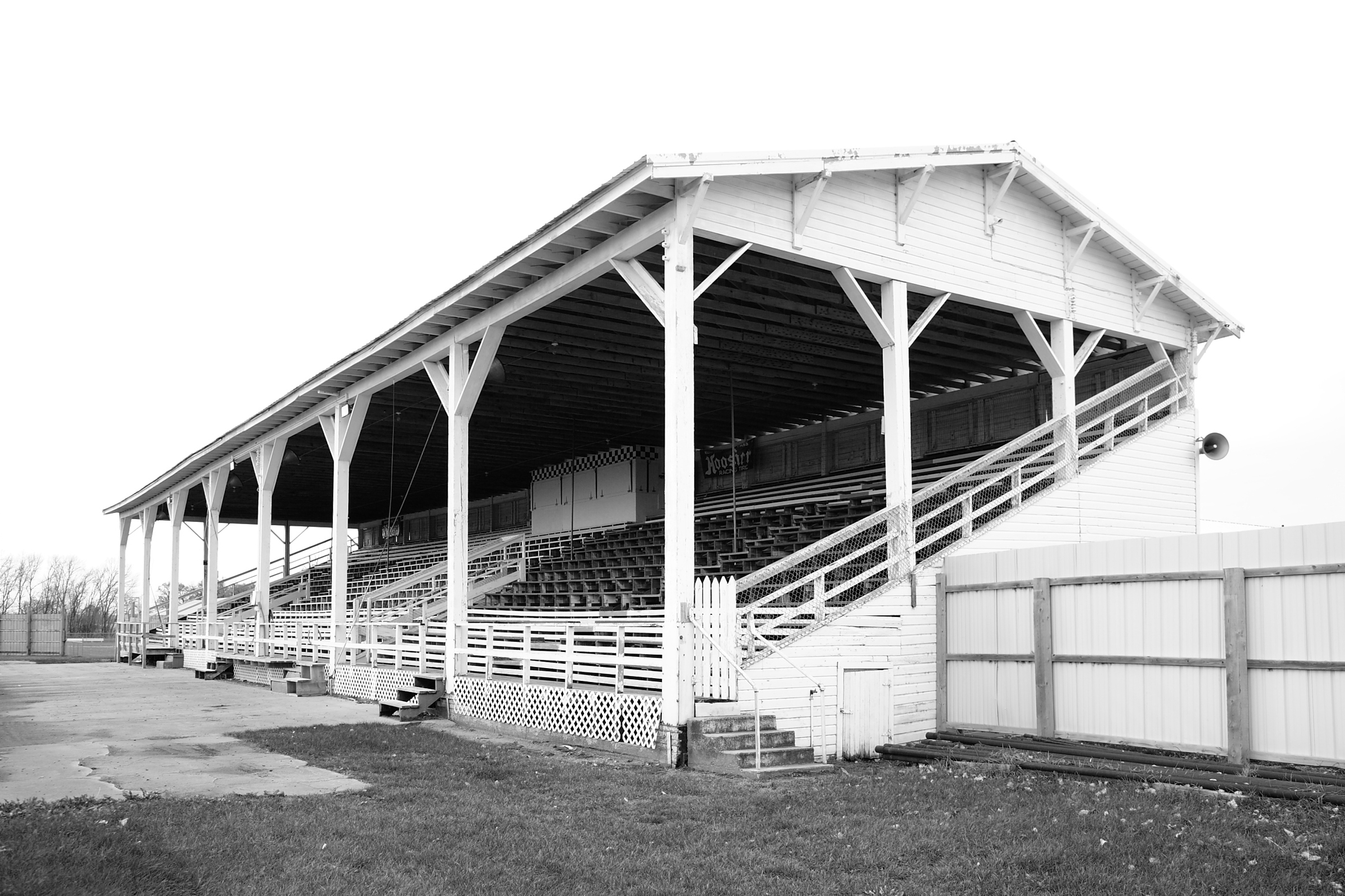 Norman Co Fairgrounds Grandstand (Please credit Daniel R. Pratt)