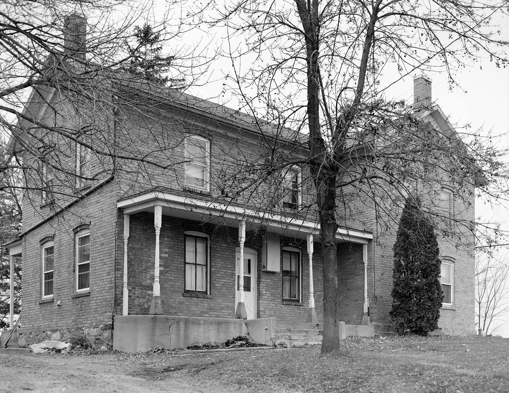 Main Elevation Oblique - MHPR CR-DHL-009-06 (Please credit Daniel R. Pratt and the Minnesota Historic Property Record)