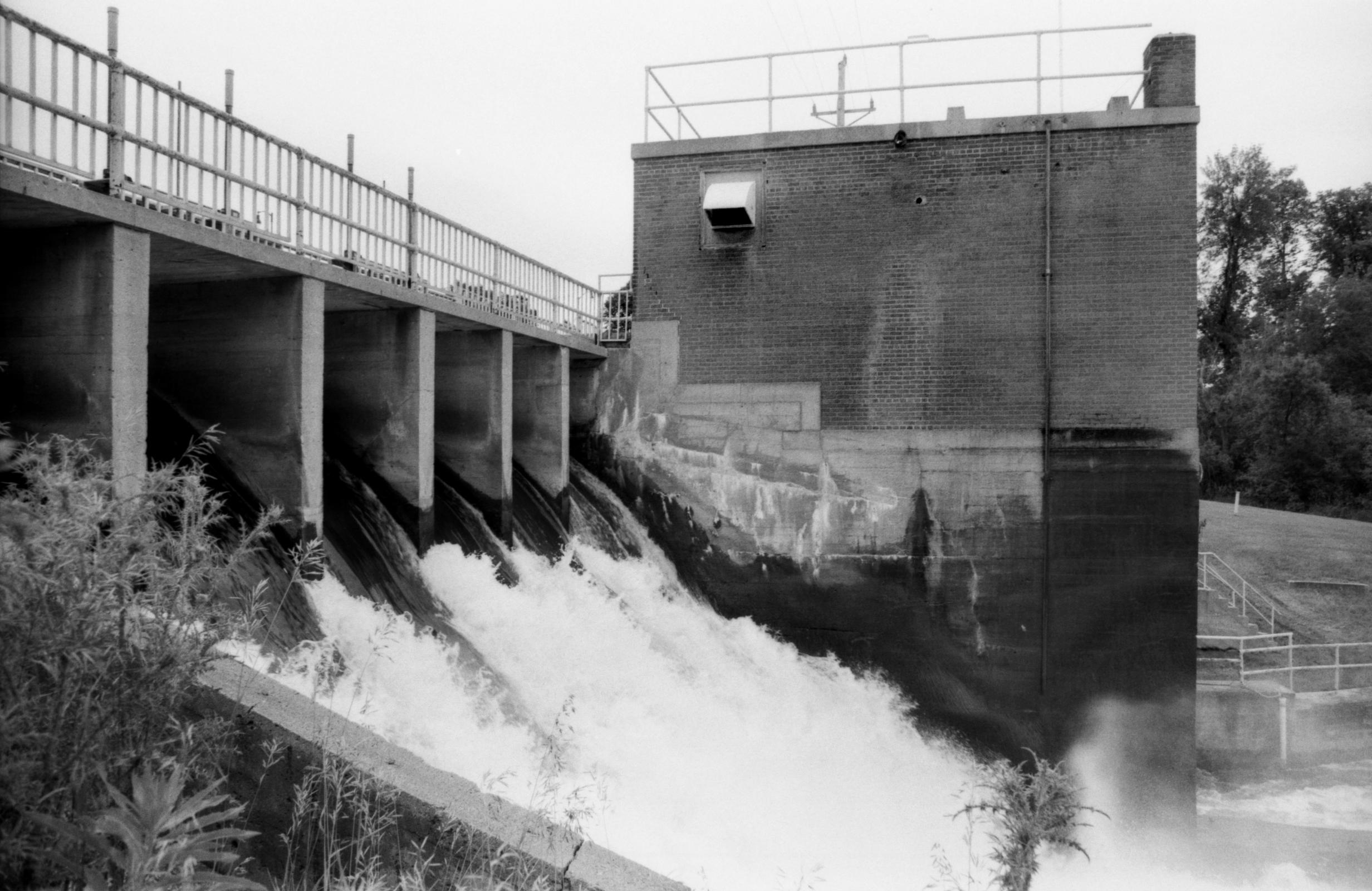 Pisgah Dam and Hydroelectric Plant (1918) Fergus Falls, Minnesota