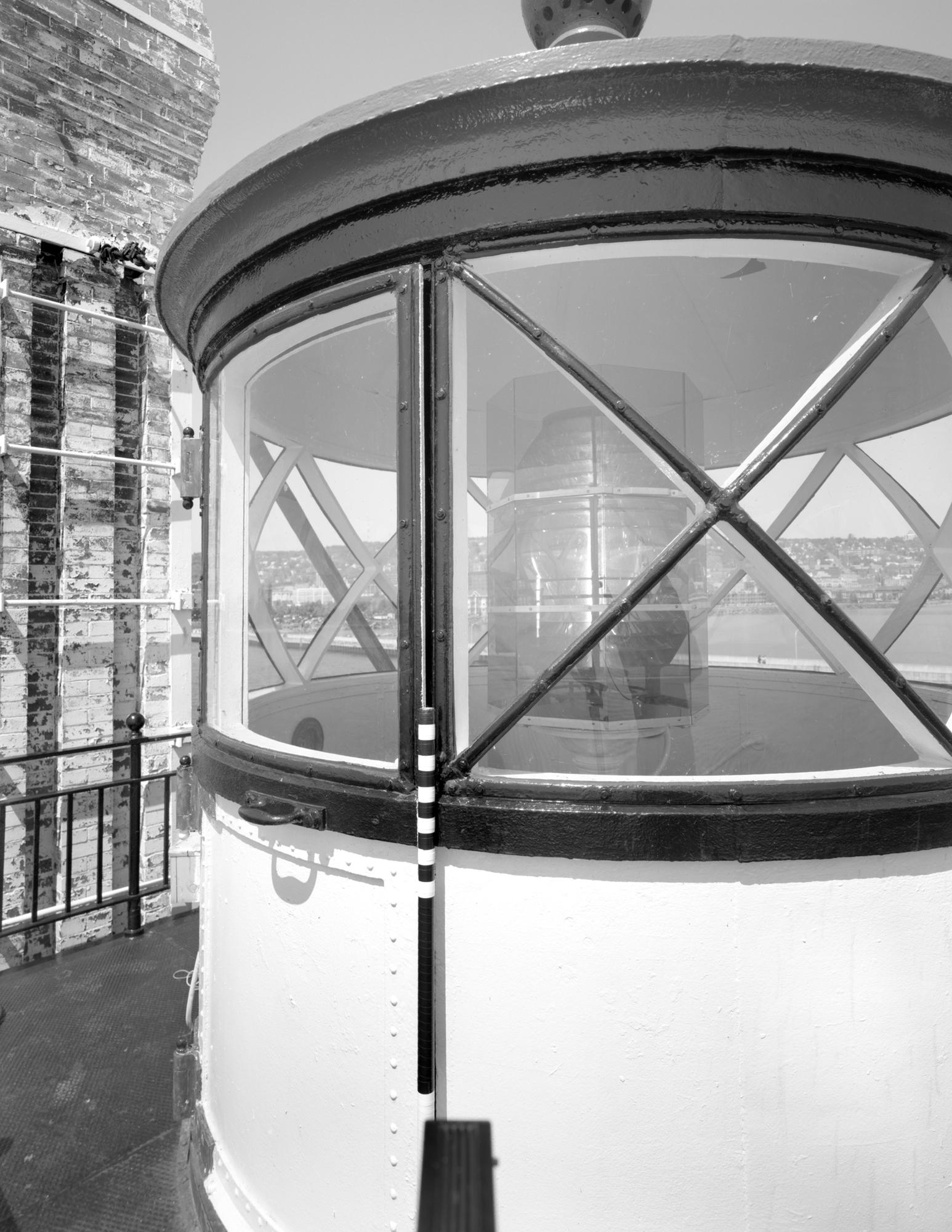 Lantern Exterior - MHPR SL-DUL-2003-04 (Please credit Daniel R. Pratt and the Minnesota Historic Property Record)