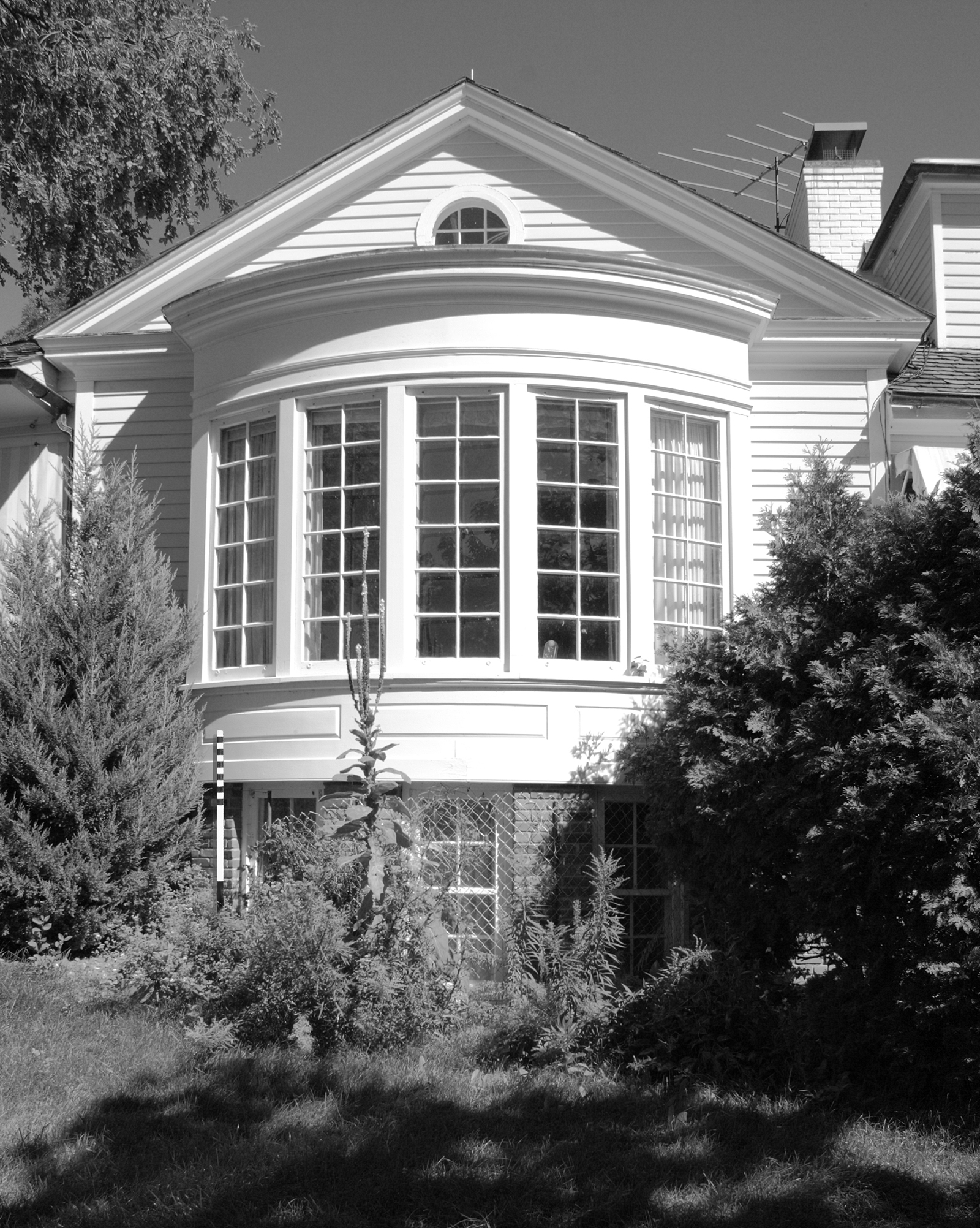 Main House South Elevation HE-WZC-007 (Please credit Daniel R. Pratt and the Minnesota Historic Property Record)
