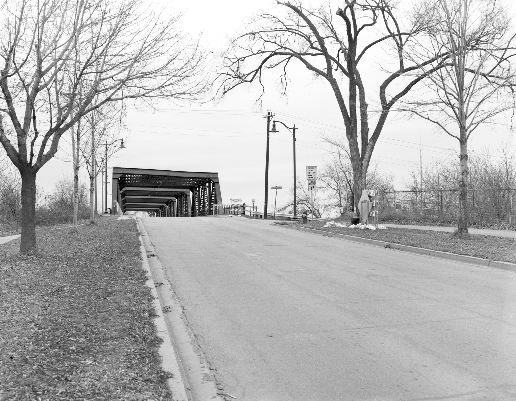 Saint Anthony Parkway Bridge - HAER MN-122-4 (Please credit Daniel R. Pratt and the Historic American Engineering Record)